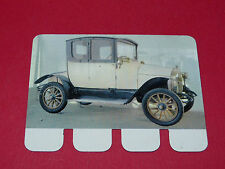 N°45 OTTO 1907 PLAQUE METAL COOP 1964 AUTOMOBILE A TRAVERS AGES