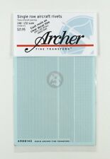 Archer 1/32 Single Row Aircraft Rivets (.34mm diameter with 3 spacings) AR88143