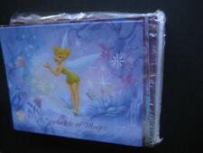 UNUSED Disney Tinkerbell Stationery - 20-Notecard Set, 4 Designs