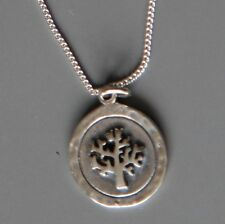 Sterling silver Tree Pendant Necklace by Lepos Jewellery