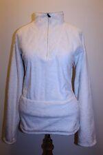 North Face Coat XL White Glacier 1/4 Zip Fleece Pullover Winter Snow Jacket