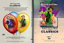 Balloon Twisting DVD - Recycling The Classics Vol 1 & 2 - Dustin Queary