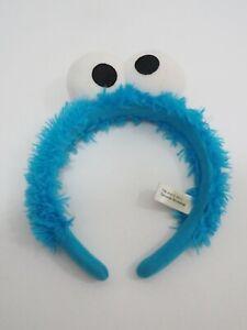 "Sesame Street Hair Band Cookie Monster 2011 USJ Universal Studio Japan 7"" Toy"