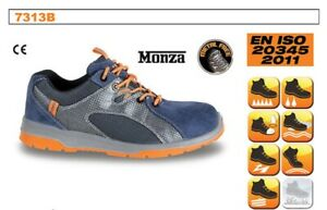 Beta Tools 7313B Work Boots Suede Shoes With Nylon Mesh And Pu 37 EU - 4 UK