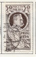 Poland 1929-38 Early Issue Fine Used 30g. 190921