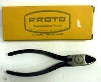 """Ingersoll Rand Proto # 206 Diagonal Cutting Plier 6"""" Vintage NOS Pendleton Tool"""
