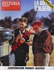 Historia magazine guerre d'Algérie n°375 spécial Coopération