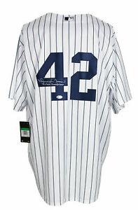 Mariano Rivera Signed New York Yankees Niike Baseball Jersey Enter Sandman BAS
