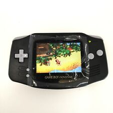 GBA Game Boy Advance Game Console with iPS Backlight LCD MOD System -Black