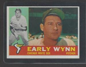 1960 Topps # 1 Early Wynn (HOF), NM, NICE SHARP CARD!!