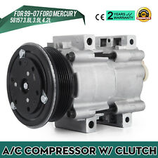 AC Compressor fit for 04-07 for Ford Freestar Monterey 3.8L 3.9L 4.2L
