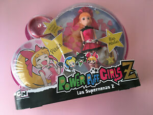 POWERPUFF GIRLS Z DOLL BLOSSOM SPANISH VERSION BY SIMBA NEW POWER PUFF GIRLS Z