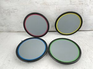 SET of 4 Rock Band Harmonix 822148 Wired Drum Pads PlayStation PS2 PS3 Xbox Wii
