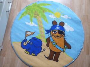 Die Sendung mit der Maus Pirat Teppich ca. 100 cm Neu