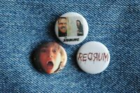 "The Shining Danny RedRum Movie Buttons Pins Badge 1"" pinback Horror"