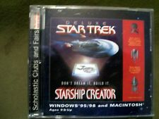 Deluxe Star Trek Starship Creator 2 Cd-Rom's Ages 9 and Up