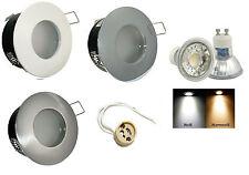 Lámpara Empotrable de Techo Aquarius 230V Regulable 5W=50W Power LED IP44 GU10
