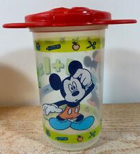 Vtg Tupperware Disney Tumbler 16oz Cup  Mickey Minnie 1+1=2