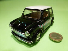 WELLY VINTAGE MORRIS MINI COOPER - BLACK 1:24? LHD - RARE - GOOD PULLBACK