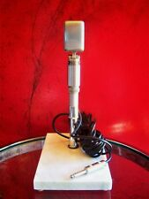 Vintage 1960's Reslo British ribbon microphone old used w stand The Beatles