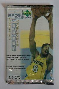 2000-01 Upper Deck Pros & Prospects Basketball Hobby Pack