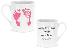 bébé/ENFANTS empreinte personnalisé tasse cadeau idéal pour de Père jour