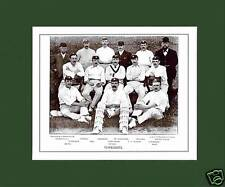 MOUNTED CRICKET TEAM PRINT - YORKSHIRE - 1895