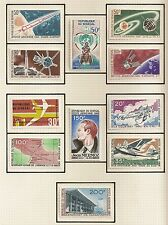STAMP / LOT TIMBRE SENEGAL NEUF AVEC CHARNIERE * POSTE AERIENNE AVIATION
