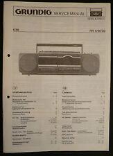 Original  Grundig Service Manual  RCR 1750