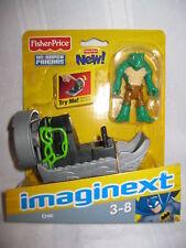 Fisher Price Imaginext DC Super Friends Killer Croc NEW Batman's villain Boat