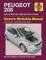 Peugeot 208 Petrol & Diesel 2012 - 2019 Haynes Manual 6452 NEW