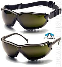 Pyramex V2G IR5 Anti Fog Welding Lenses Safety Glasses Hybrid Goggles Z87+