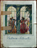 Ballroom Silhouettes, Twelve Famous Dances for Piano. Swan Lake etc. – Pub. 1941