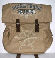 Disney Parks Jungle Cruise Attraction Skipper Backpack Brand New