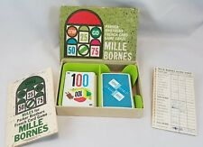 Mille Bornes 1962 Parker Brothers French Car Racing Card Game
