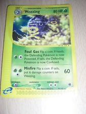 Weezing Expedition Set 70/165 Rare Pokemon Card Good Condition