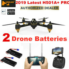 Hubsan X4 H501A PRO APP FPV Drone 1080P Quadcopter W/GPS Waypoint RTF,3Batteries