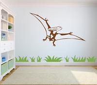 Pterodactyl Dinosaur Wall Decal Sticker Art Boys/ Girls Room Cool Di4