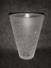 Lalique OMBELLES Small Vase/Collectible
