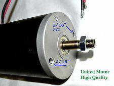 1 hp DC motor generator 48 volt permanent magnet 800 Watt 12mm shaft S