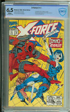 X-Force # 11 CBCS 6.5  WP 1st app. of Domino, Deadpool App., Liefeld Cover
