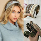 Vintage Embroidery Headband for Women Knotted Flower Hair Band Hair Accessories
