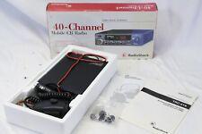 40-Channel Mobile CB Radio RadioShack TRC-519  Audio Clarity Enhancer