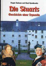 DIE STUARTS - Geschichte einer Dynastie - Schottland Buch - Hagen Seehase