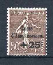 "FRANCE STAMP TIMBRE 267b "" 50c CA VARIETE SANS POINT SUR i "" NEUF xx TTB  R115"