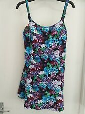 Magisculpt Skirted Swimsuit Size 20 - New - Floral Design Swimwear Plus Size