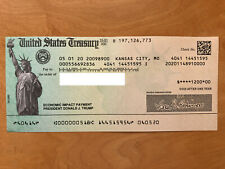 CASHED President Trump Stimulus Check 2020 Economic Impact Payment Collectible