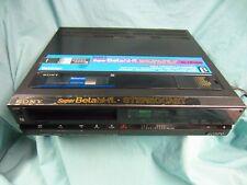 Sony Super Betamax Hi Fi Sl-Hf400 Vcr- For Parts/ Repair