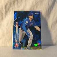 2020 Topps Chrome Update Sapphire Nico Hoerner Rookie Debut (RC) Chicago Cubs