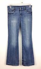 CITIZENS OF HUMANITY Faye Stretch #003 Full Leg Denim Jeans Size 28/32 Low Waist
